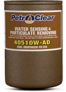"PetroClear 1"" Water Stop Filter"