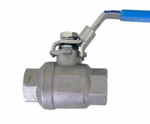 Morrison Bros 691BSS Stainless Steel Ball Valve (Lockable)