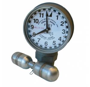 Morrison Bros 818 Clock Gauge