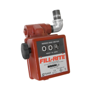 "Fill Rite 806C 3-Wheel 1"" Mechanical Gravity Liter Meter with Strainer"
