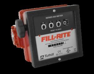 Fill-Rite 901CL 4 Wheel Mechanical Liter Meter