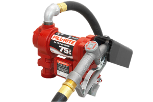 Fill Rite FR4410G 24 VDC High Flow Pump with Hose and Manual Nozzle