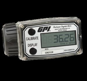 GPI 03A31GMME 03A Turbine Methanol Meter