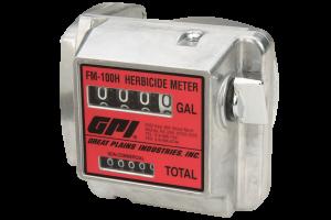 GPI FM-100H-G8N Mechanical Herbicide Gallon Meter